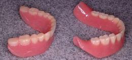 新旧義歯写真