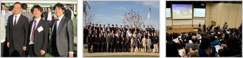 アメリカロマリンダ大学インプラント科の35周年記念講演会に出席の写真